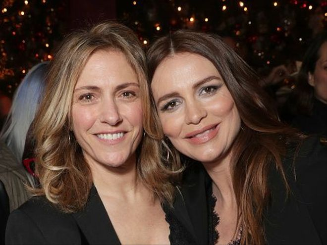 "Old Mtv Shows >> ""Law And Order"" Actress Saffron Burrows And Wife Alison Balian Welcome Baby Girl 