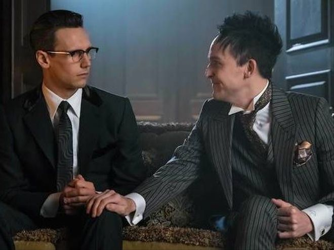 Image result for gotham penguin riddler