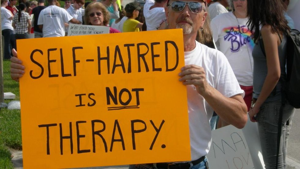 Image result for gay conversion therapy