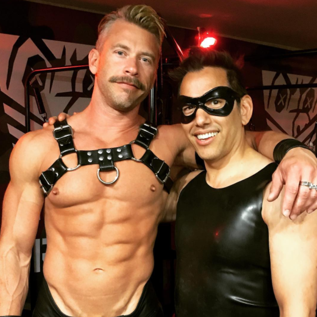 leather chaps bear Gay