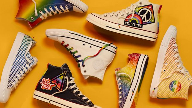445219eb7cc081 These Pride Sneakers From Converse
