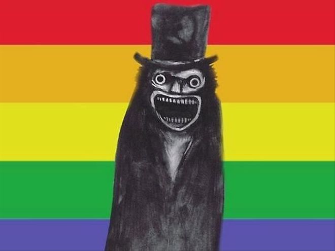 The Babadook Is Your New Gay Mascot For Pride 2017