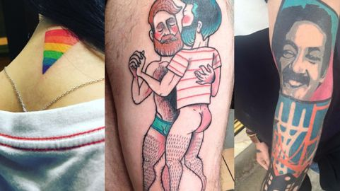 5298e59c5 47 Unique Queer Tattoos That Celebrate Pride All Year Long | NewNowNext