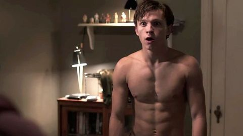 Tom Holland Wore Nothing But A Thong Under His