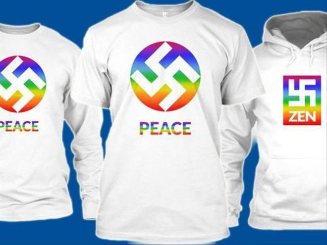 Can The Swastika Be Repurposed As An Lgbt Symbol This Clothing