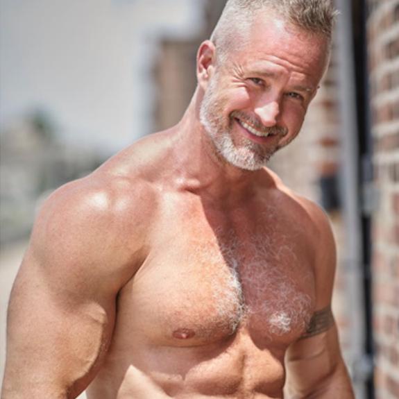 Muscle silver daddy