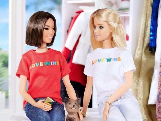 Is barbie a lesbian something