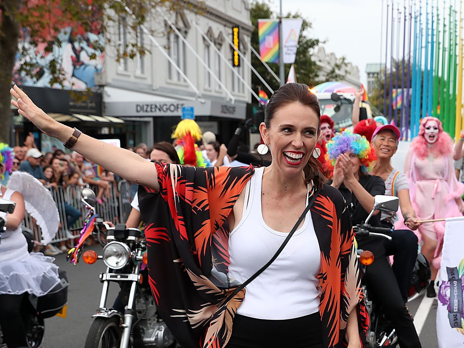 Image result for jacinda ardern gay pride
