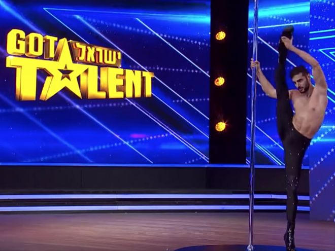 Male Pole Dancer In Stilettos Gets The Golden Buzzer On