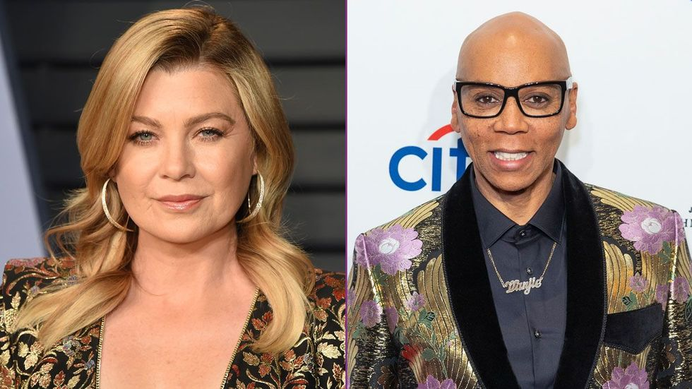 RuPaul And Ellen Pompeo Are Working On A Secret Project Together ...