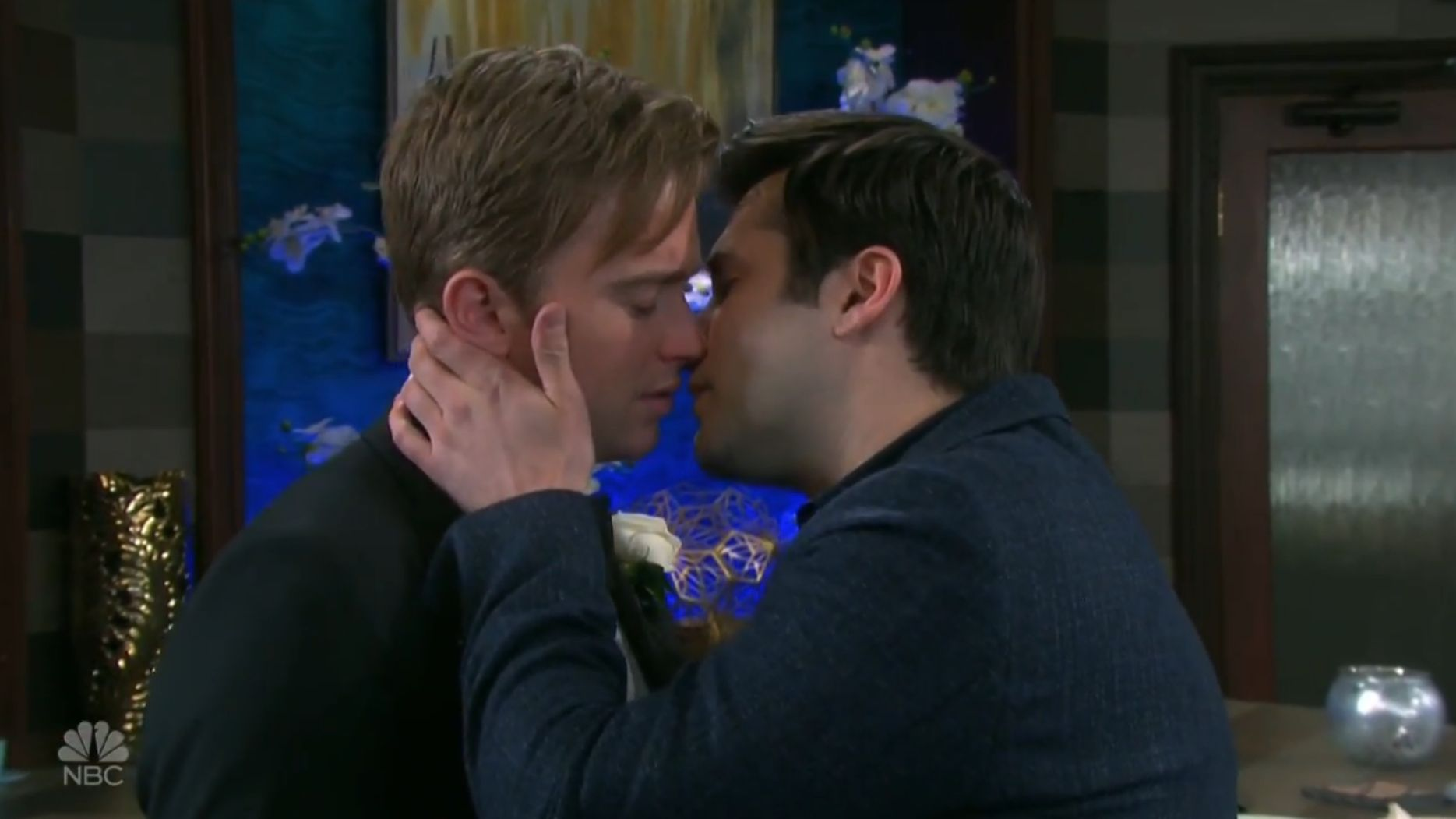 So Long Salem Gay Couple Will And Sonny Depart Days Of Our Lives Newnownext
