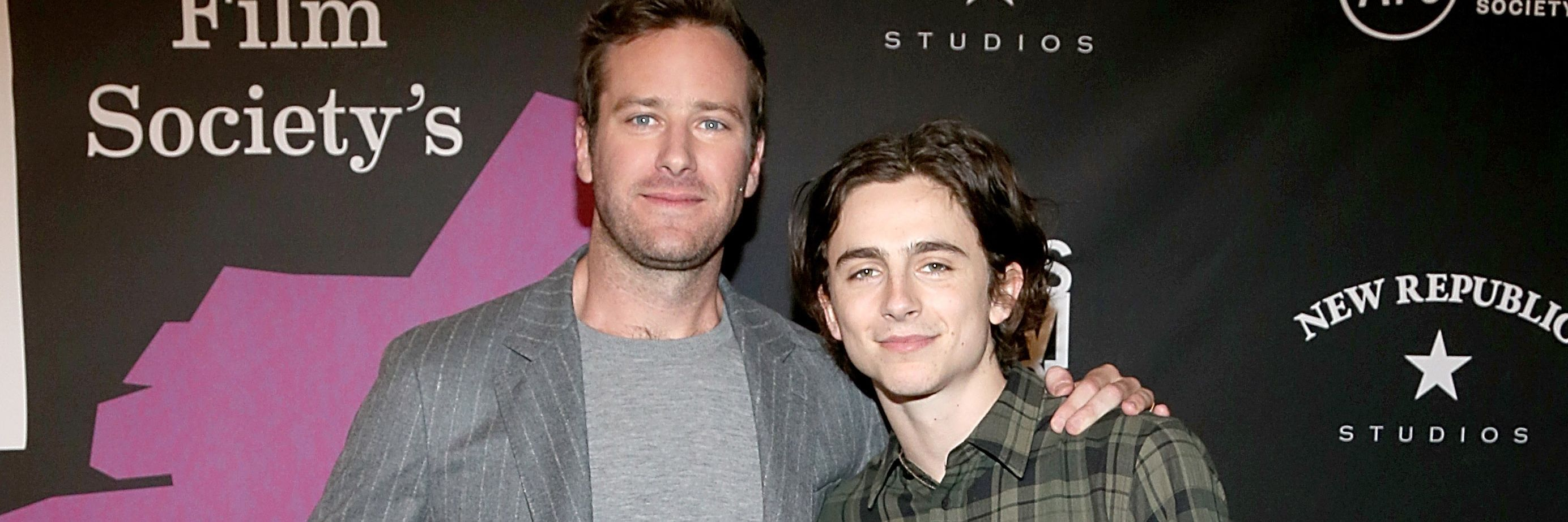 """Timothée Chalamet on """"Call Me by Your Name"""" Sequel: """"Armie"""