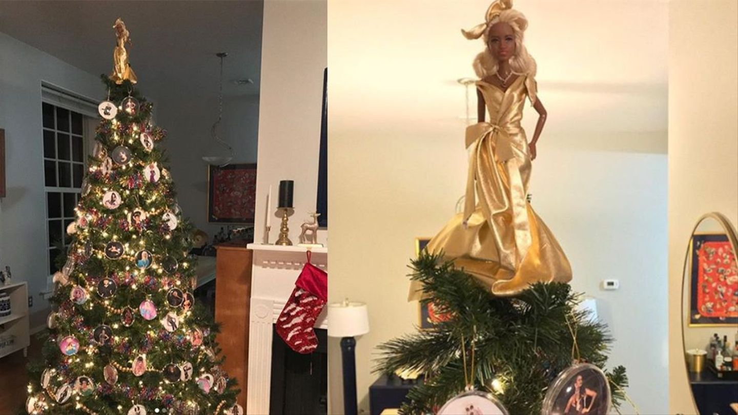 Rupauls Christmas Special.This Rupaul S Drag Race Themed Tree Is Here To Slay