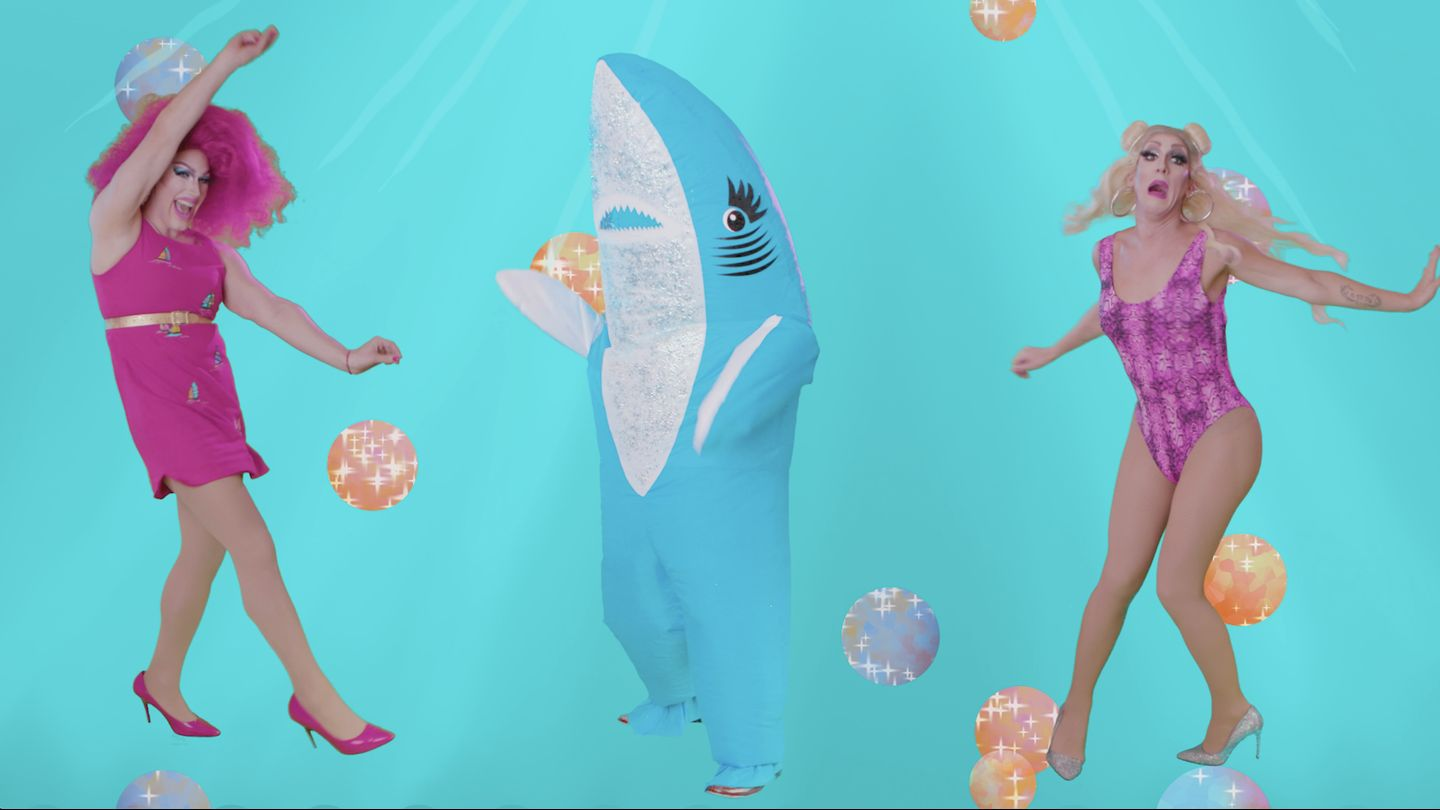 "NYC Drag Queens Dive Into ""Baby Shark""-Infested Waters With New Music Video"