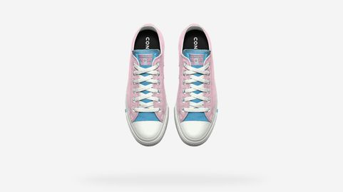 e7448debec10 Converse Steps Up Its New Pride Sneaker Line With Trans Flag Colors ...