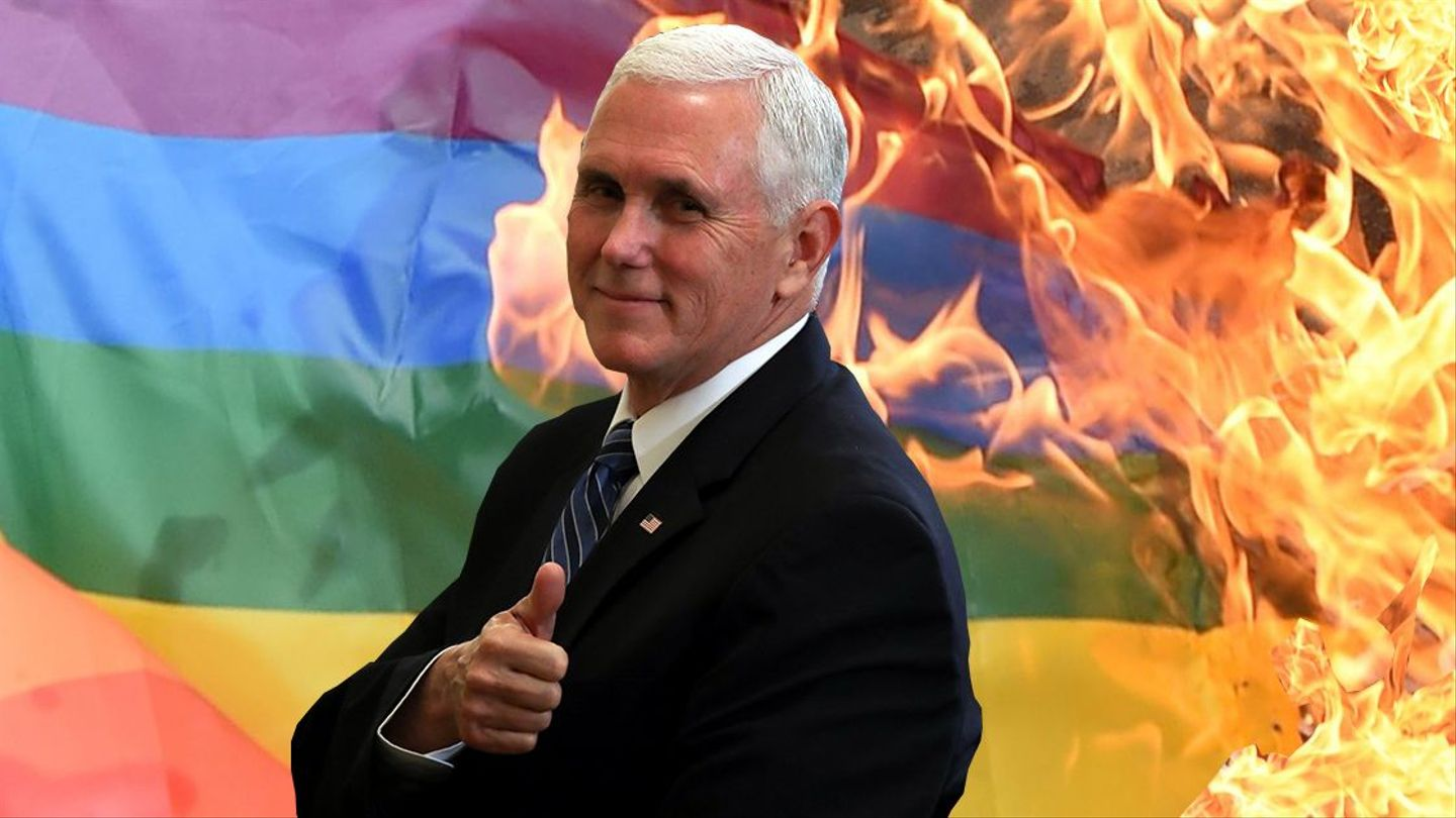 Here's Your Guide to Mike Pence's Anti-LGBTQ Record