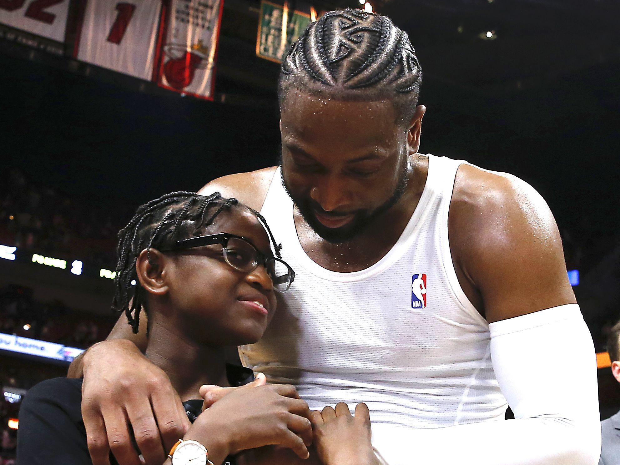 "NBA Star Dwyane Wade Says It's His ""Job"" to Support Son at"