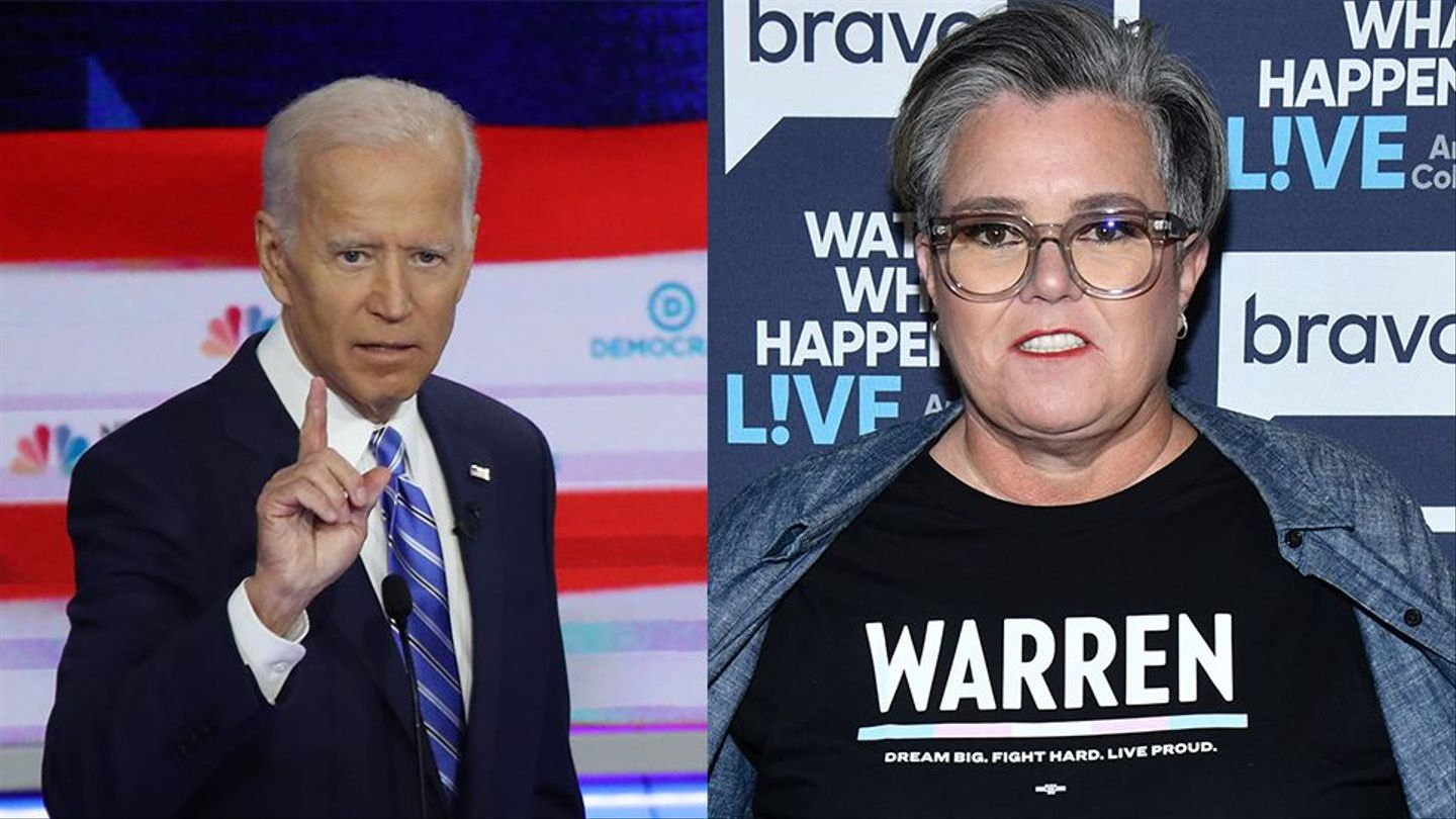 """Rosie O'Donnell to Joe Biden: """"Sit This One Out"""""""