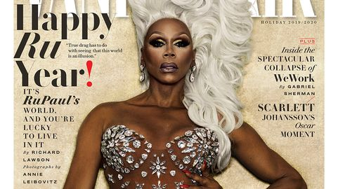 Vanity Fair Cover January 2020.Rupaul Is Dripping In Diamonds On Vanity Fair January 2020