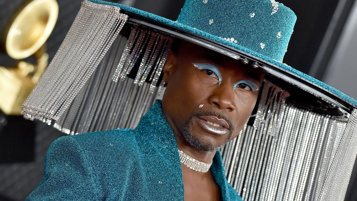 billy porter lil nas x turn heads serve looks at the 2020 grammys newnownext newnownext