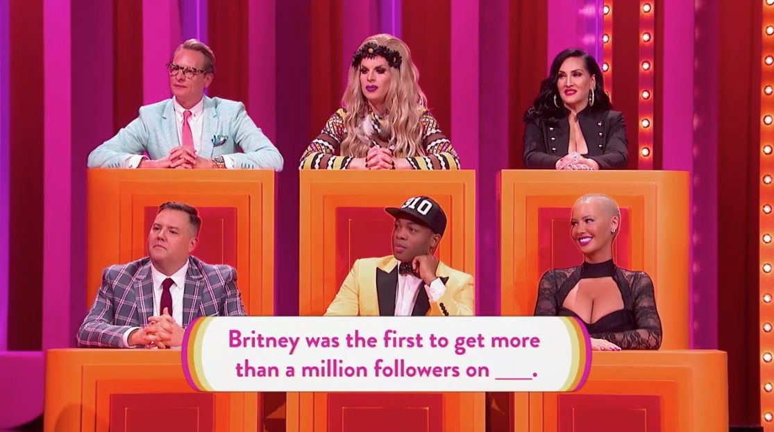 Gay For Play Game Show Starring RuPaul Featuring Amber Rose