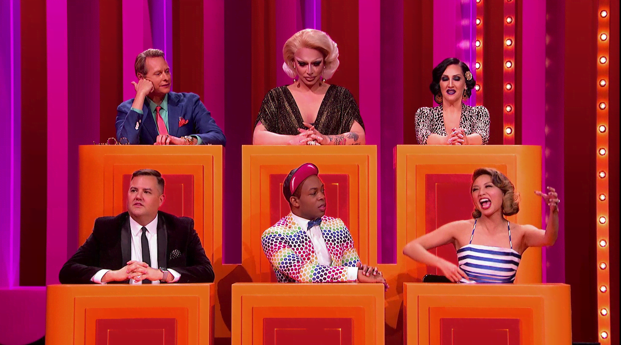 Gay For Play Game Show Starring RuPaul Featuring Jeannie Mai