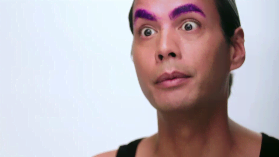 Exclusive - Raja Makeup Tutorial: Step 1 - Eyebrows - RuPaul's Drag Race (Video Clip) | LOGOtv