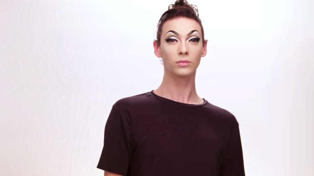Get The Leather And Lace Look In Violet Chachki's RuCreation Makeup ...