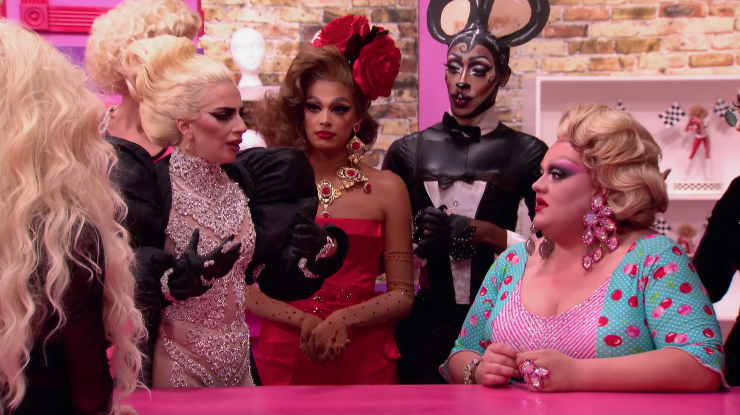 Highlight A Queen Gets Emotional With Lady Gaga Rupauls Drag