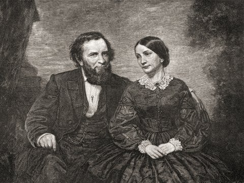 Joshua Fry Speed and wife Lucy Gilmer Fry
