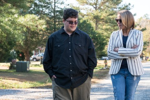GLOUCESTER, VA - Gavin Grimm, a transgender teen,  discusses with Katie Couric his bathroom lawsuit going to the Supreme Court. (photo credit:  National Geographic/Eric Kruszewski)