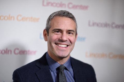 NEW YORK, NY - FEBRUARY 11:  Andy Cohen arrives at Lincoln Center's American Songbook Gala Honors Lorne Michaels at Lincoln Center for the Performing Arts on February 11, 2016 in New York City.  (Photo by Dave Kotinsky/Getty Images)