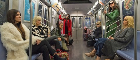 oceans eight subway