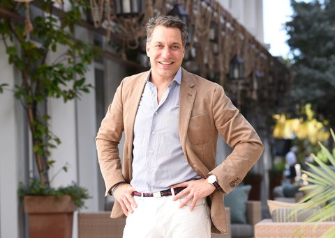 MIAMI BEACH, FL - DECEMBER 06: Designer Thom Filicia attends The AD Oasis at James Royal Palm Hotel on December 6, 2014 in Miami Beach, Florida. (Photo by Larry Busacca/Getty Images for Architectural Digest)