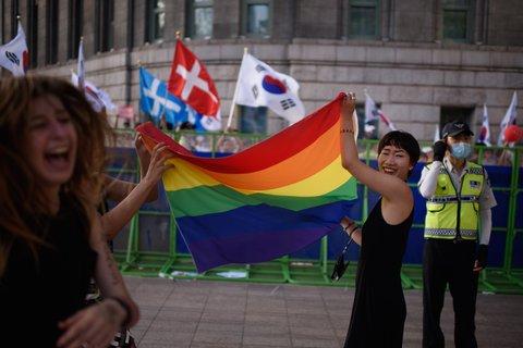 from Aidan gay rights north korea