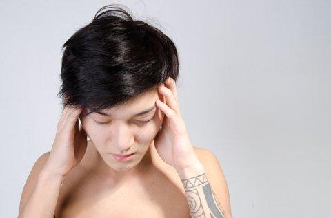 Migraine and headache, health problems.