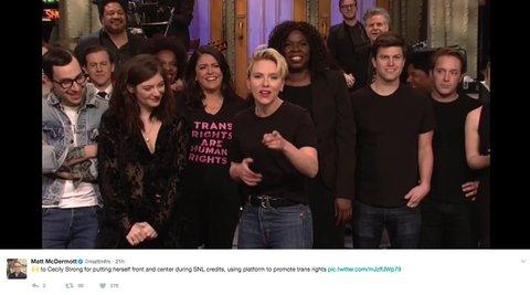 SNL transgender rights