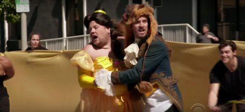 james corden belle