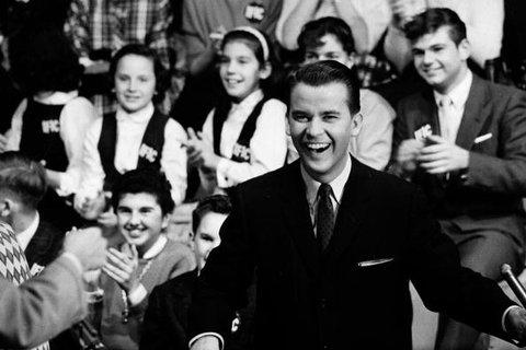 American Bandstand host Dick Clark.