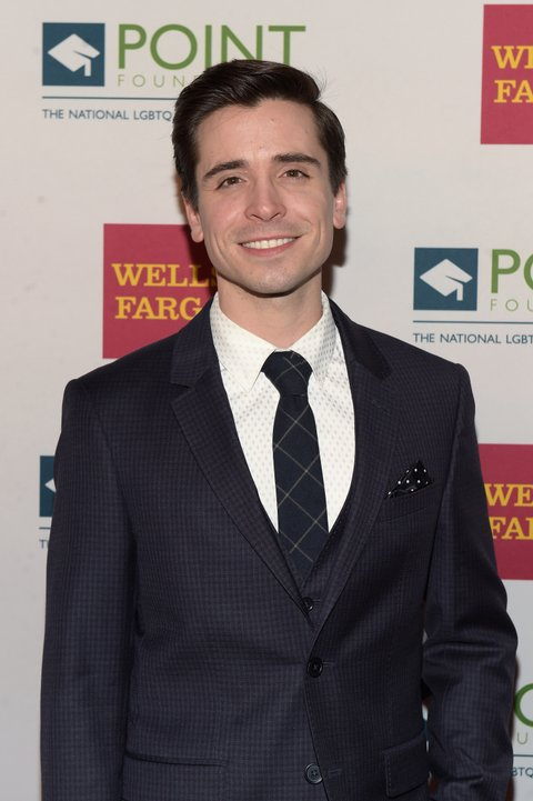 NEW YORK, NY - APRIL 03:  Performer Matt Doyle attends the Point Honors Gala at The Plaza Hotel on April 3, 2017 in New York City.  (Photo by Jason Kempin/Getty Images for Point Foundation)