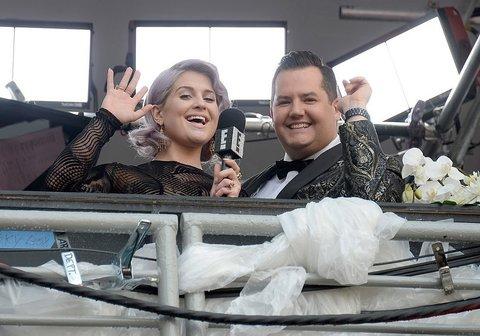 Kelly Osbourne and Ross Mathews