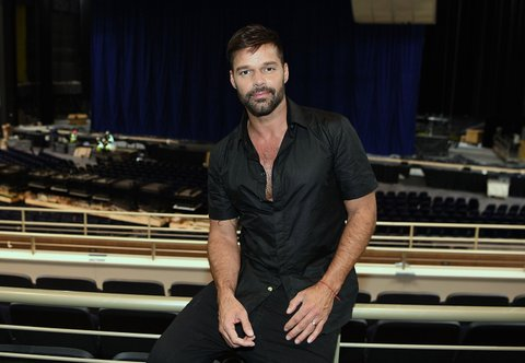 LAS VEGAS, NV - NOVEMBER 16:  Ricky Martin announces his new Las Vegas headlining residency at The Park Theater at Monte Carlo on November 16, 2016 in Las Vegas, Nevada.  (Photo by Denise Truscello/WireImage)
