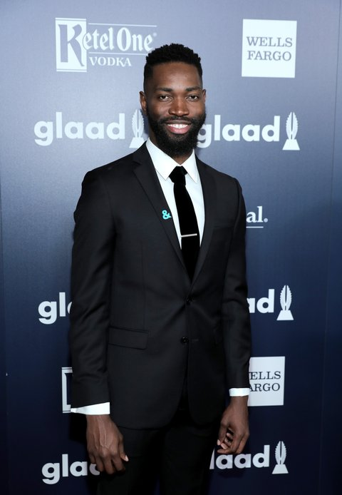 BEVERLY HILLS, CA - APRIL 01:  Writer Tarell Alvin McCraney celebrates achievements in the LGBTQ community at the 28th Annual GLAAD Media Awards, sponsored by LGBTQ ally, Ketel One Vodka, in Beverly Hills on April 1, 2017.  (Photo by Neilson Barnard/Getty Images for Ketel One Vodka)