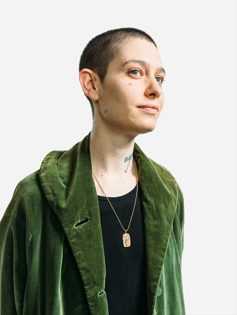 NEW YORK, NY - SEPTEMBER 15: (EXCLUSIVE ACCESS, SPECIAL RATES APPLY) Actress Asia Kate Dillon attends the 4th Annual Back to School Fundraiser presented by English in Mind Institute and The Society New York Model Management at the Wythe Hotel on September 15, 2016 in New York City. (Photo by Zack DeZon/Getty Images Portrait)