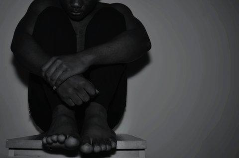 Isolated Black Man