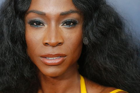 Nominee Angelica Ross attends the 28th Annual GLAAD Media Awards on May 6, 2017 in New York. / AFP PHOTO / EDUARDO MUNOZ ALVAREZ        (Photo credit should read EDUARDO MUNOZ ALVAREZ/AFP/Getty Images)