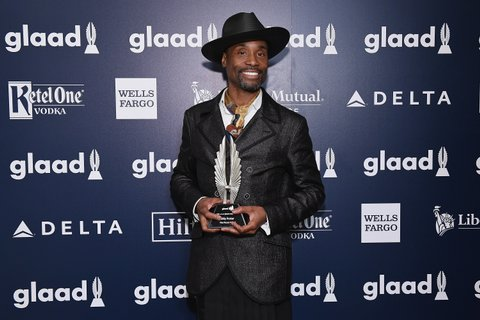 NEW YORK, NY - MAY 06:  Vito Russo Award Winner Billy Porter-Smith attends 28th Annual GLAAD Media Awards at The Hilton Midtown on May 6, 2017 in New York City.  (Photo by Dia Dipasupil/Getty Images for GLAAD)