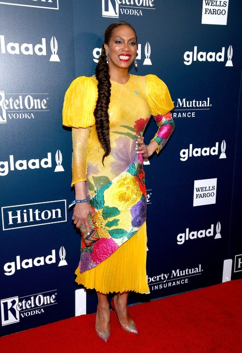 NEW YORK, NY - MAY 06:  Lina Bradford attends the 28th Annual GLAAD Awards at New York Hilton Midtown on May 6, 2017 in New York City.  (Photo by Paul Zimmerman/WireImage)