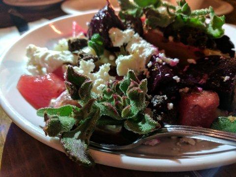 Salad at FnB