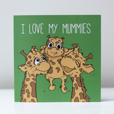 giraffes mothers day